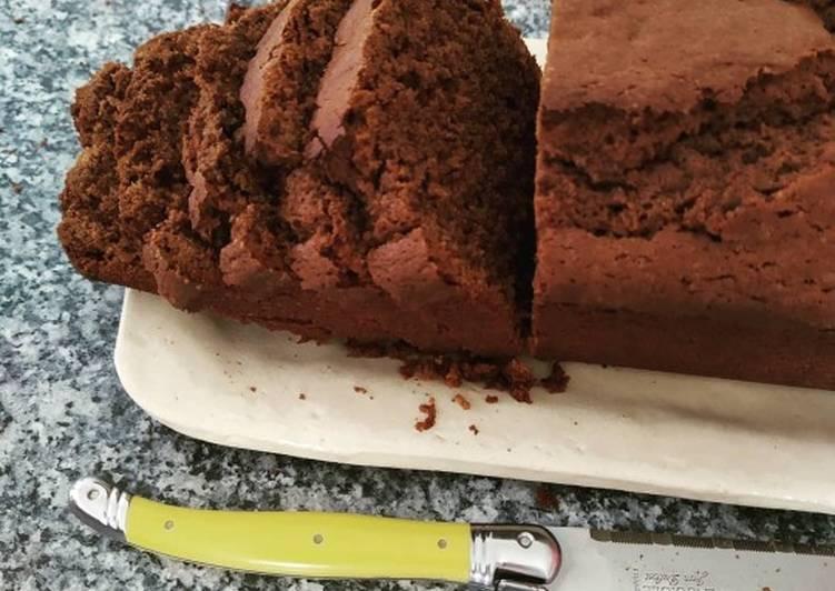 Cake au chocolat Cyril Lignac
