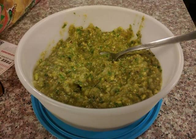 Spicy Green Salsa
