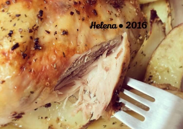 Roasted Chicken menit aja..very easy very yummy..^^