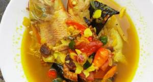 Pindang Kuning Ikan Nila Merah