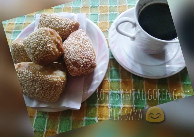 Roti bantal/roti goreng
