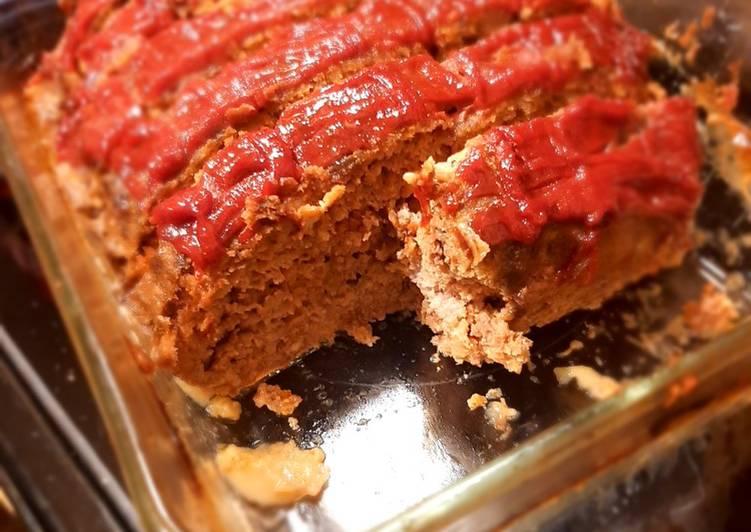 Hidden Veggie Meatloaf
