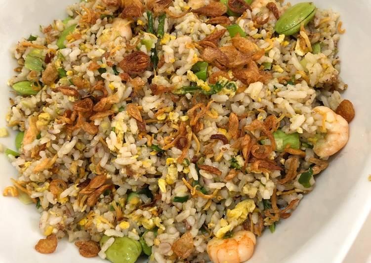 Nasi goreng udang pete special