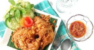 Ayam Goreng With Kremesan