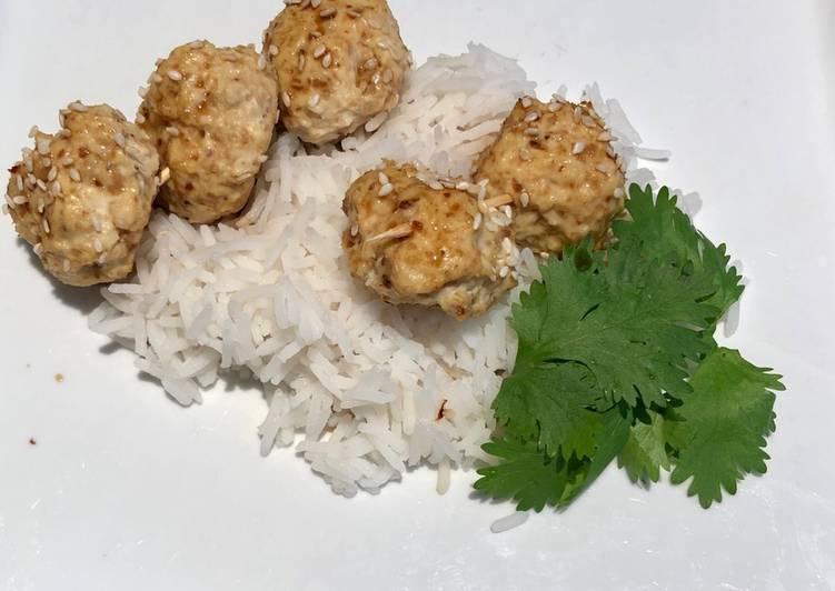 Tsukune (brochettes de poulet)