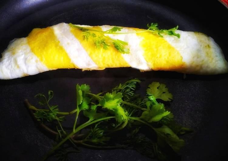 Spiral egg roll