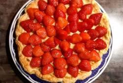 Ricette di cucina Sfoglia alle fragole delizioso