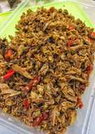 Resep Ikan Tongkol Suwir : resep, tongkol, suwir, Resep, Tongkol, Suwir, Bumbu, Seadanya, Sederhana, Rumahan, Cookpad
