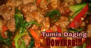 Tumis Daging Dowerrr !!!
