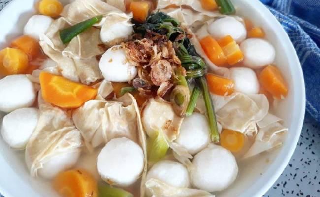 Resep Sop Baso Ikan Tofu Cute766