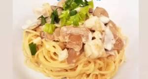 Resep Sederhana Carbonara Spaghetti