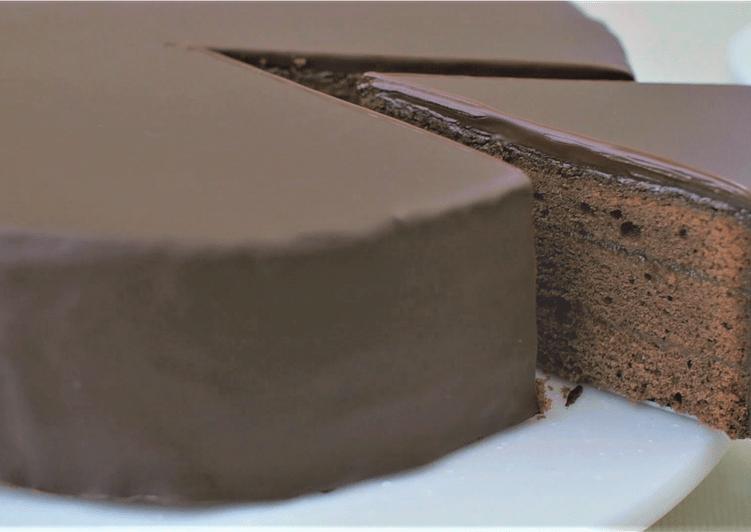Sachertorte (chocolate cake)★Recipe video★