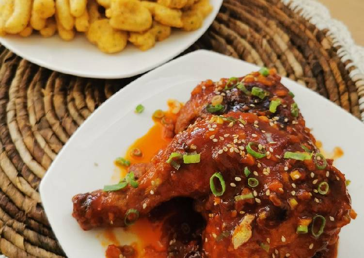 Chicken Gochujang (Ayam Goreng Ala Korea)
