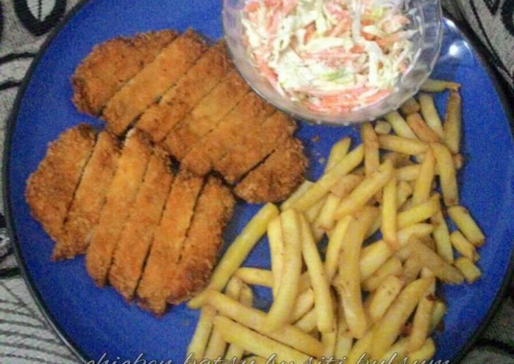 Chicken katsu ala2 ibu iki