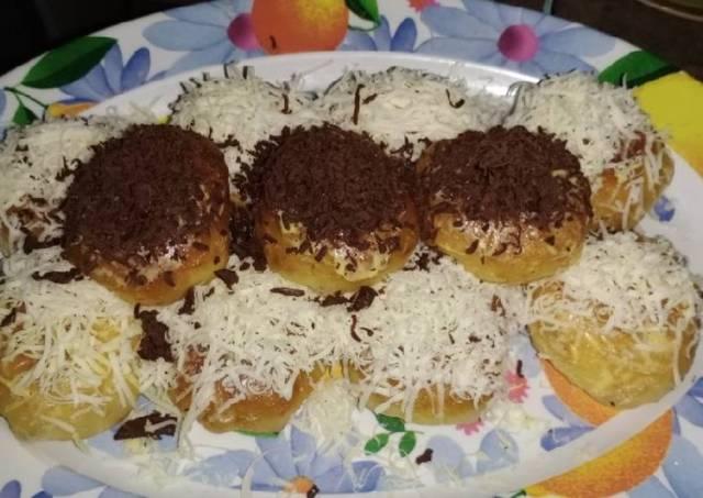 Roti Jabrik ala Guee simpel tanpa telur tapi empuk lembut