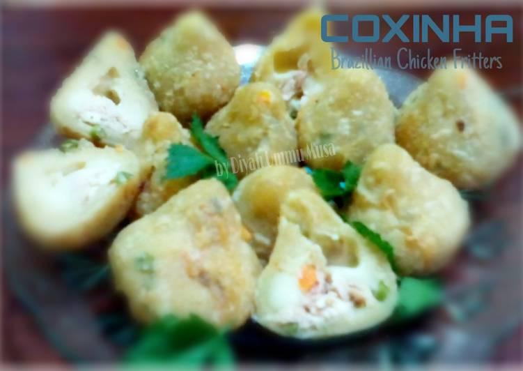 Coxinha | Kroket a la Brazil | Brazillian Chicken Fritters