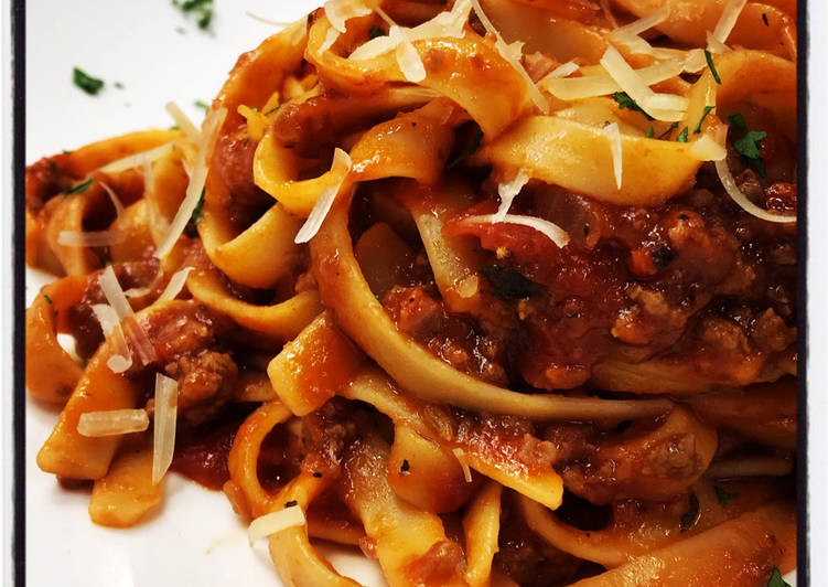 30 Minute Meat Sauce