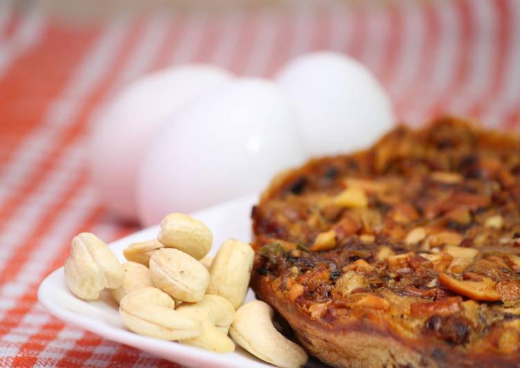 Erachi Pola / Erachi Cake/ 3 Layered Chicken-Egg Cake