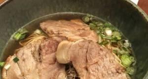 Nibuta (Stewed Pork) Shoyu Ramen