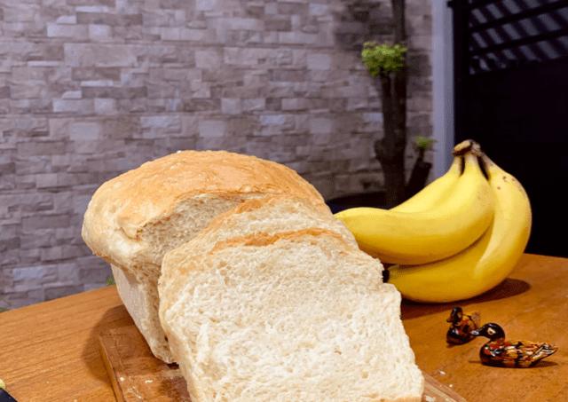 Roti Tawar Sederhana - 6 bahan saja!