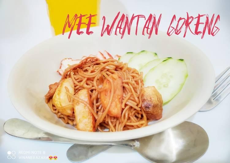 Mee Wantan Goreng