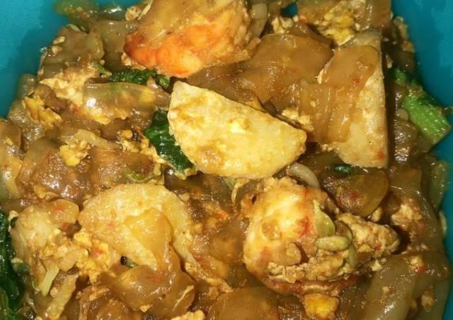 Mie Tiaw Goreng Seafood