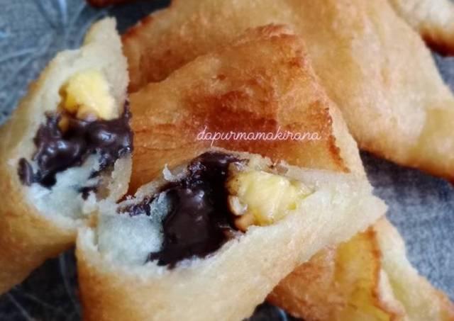 31. Roti Goreng 3 Rasa (coklat,pisang,kacang)