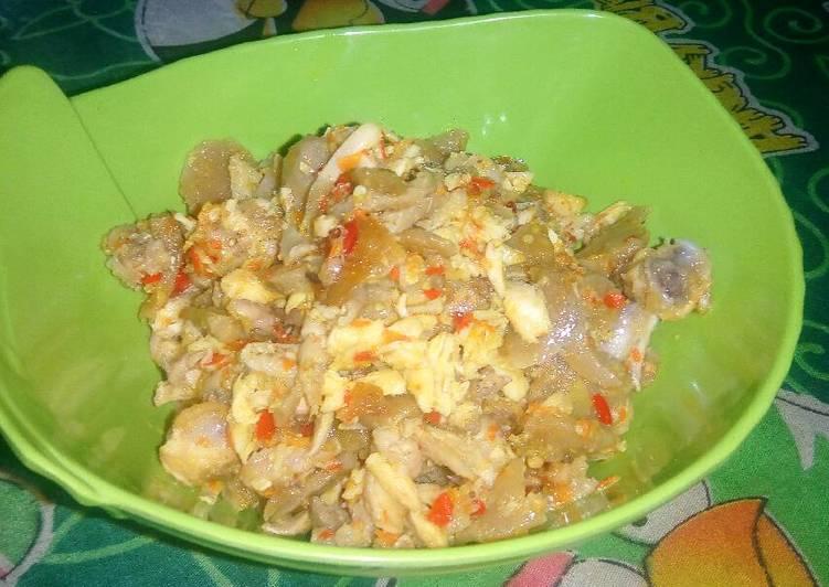 Ayam Bakso Balado