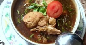 87. Sup Ayam Kecap simple