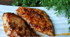 Pan-Seared Spicy Honey Chicken