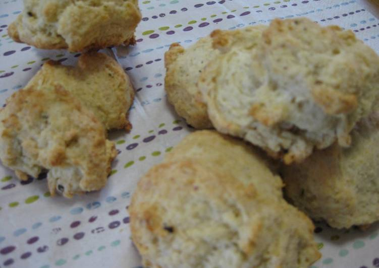 Homemade Cottage Cheese Hot Biscuit (Scone)