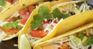 Shrimp Tacos & Pico De Gallo ala Chef Juna