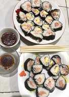 Cara Membuat Sushi Sederhana : membuat, sushi, sederhana, 2.148, Resep, Sushi, Sederhana, Rumahan, Cookpad