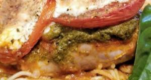 Basil Pesto & Mozarella Chicken Thighs