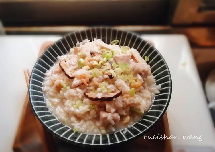 芋頭鹹粥食譜 by 瑞珊王 - Cookpad