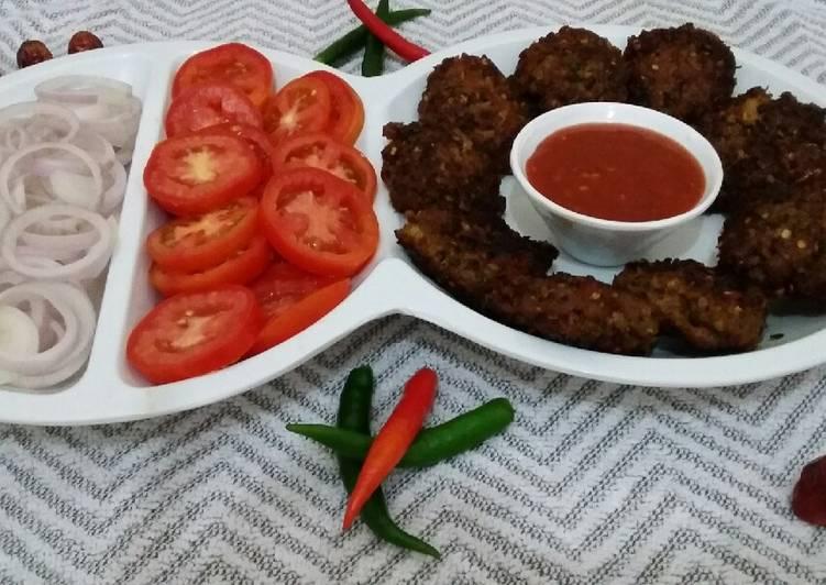 Kachay Qeemay ke kebab