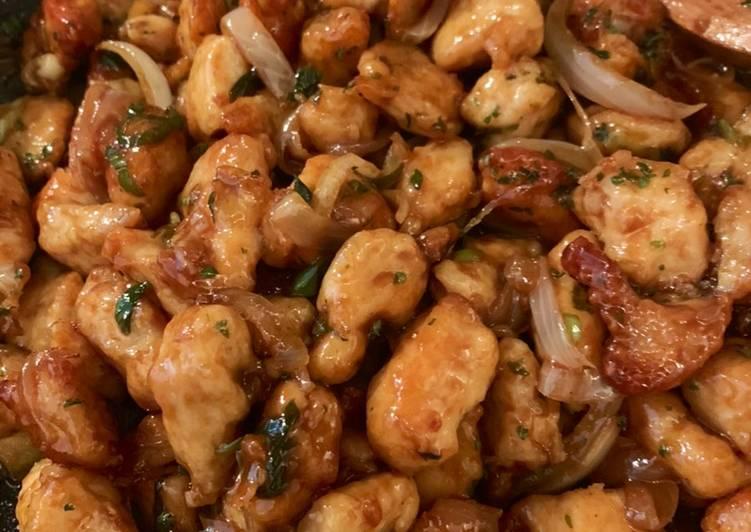 Ayam filet saus tiram