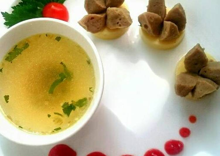 Sup Tofu Bakso Gampang