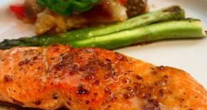 Salmon With Lemon Mustard Sauce