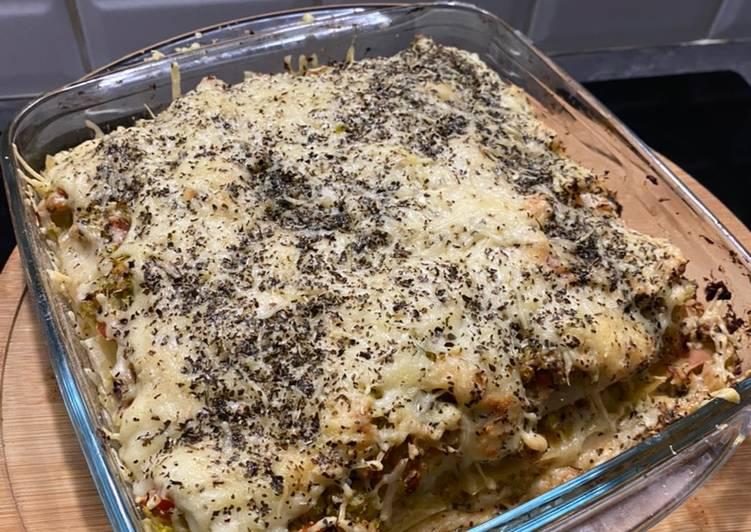 Lasagne au thon et brocoli 🥦