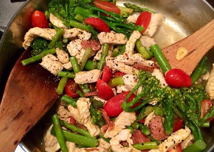 Turkey & Chorizo Veggies