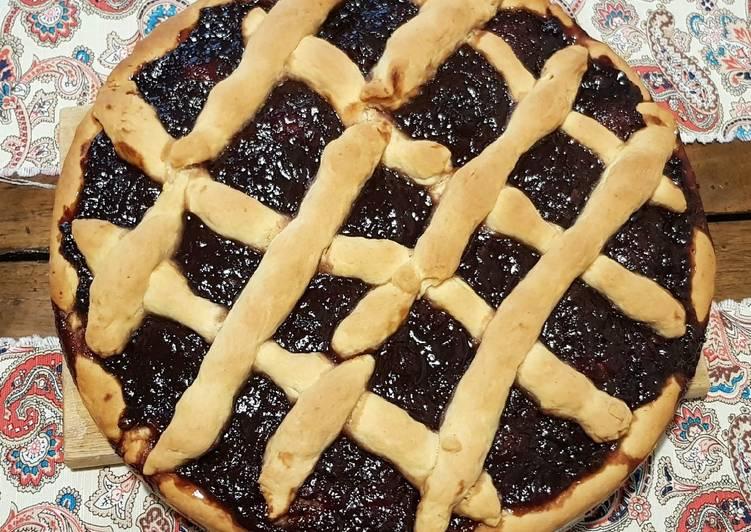 Greek Pasta Flora or else sweet jam pie