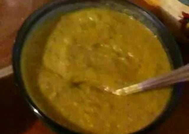 Poblano salsa verde