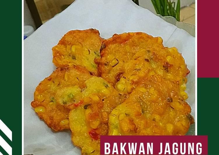 Resep Bakwan Jagung Paling Gampang