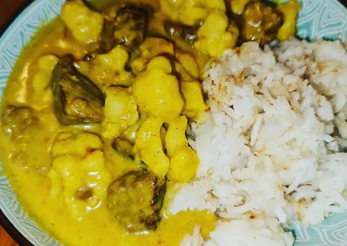 Rindfleischcurry mit Blumenkohl