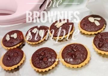 Resep Pie Brownies Simple Paling dicari
