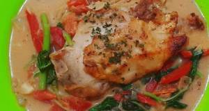 Breast Chiken With Creamy Vege Ekonomis