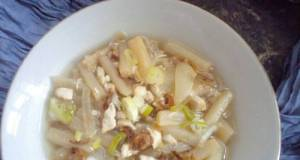 Sup Asparagus + Ayam