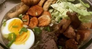Filipino Food Series: Batangas Pancit Lomi Or Lomi (Noodles)