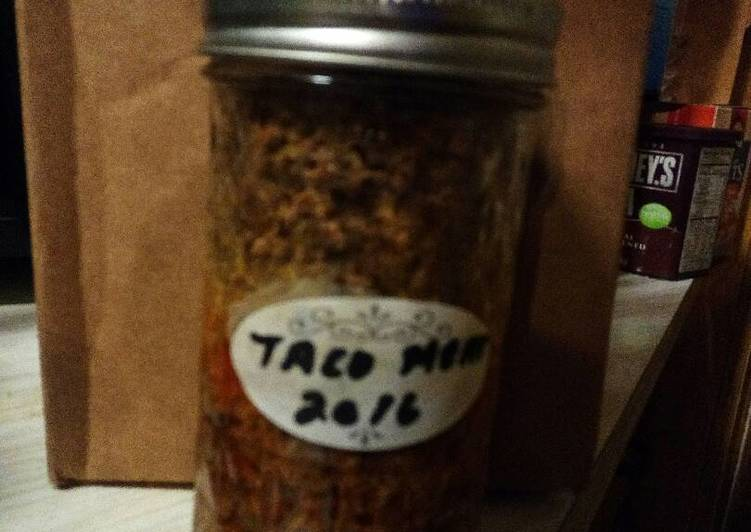 Canned Ground Beef Taco Meat